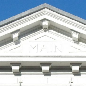 Main Theater now on the National Register of Historic Places!