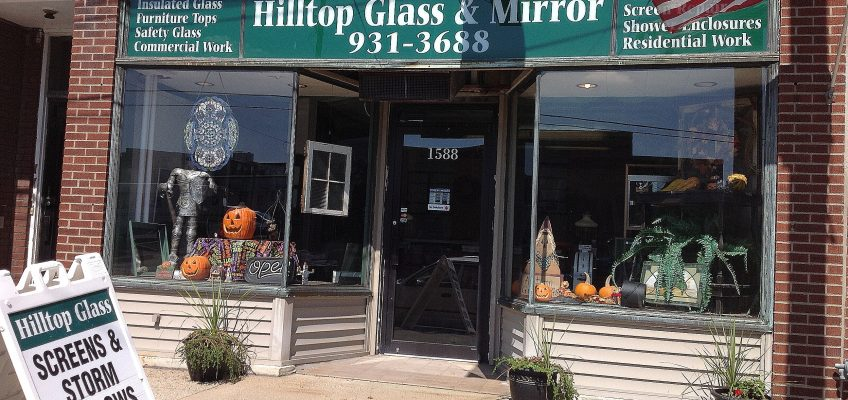 Mt Healthy Business Hilltop Glass