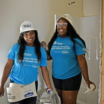 Women Build Week helps a Mt. Healthy alumna get new home